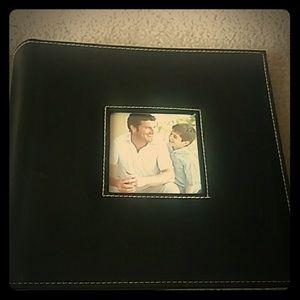 Black Leatherette Photo Album